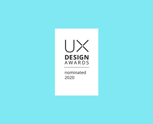 UX Design Award nominated